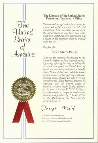 Samsteel Patentti USA